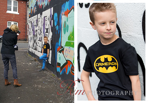 Childre's location photography