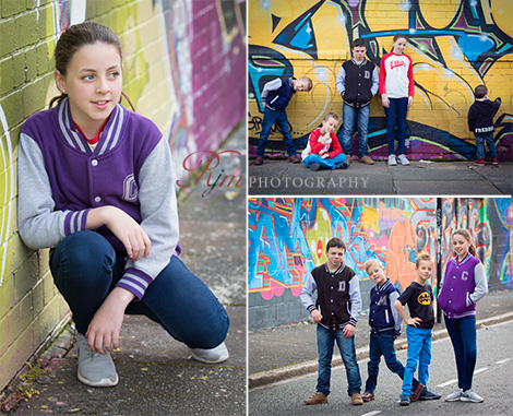 Children's location photography