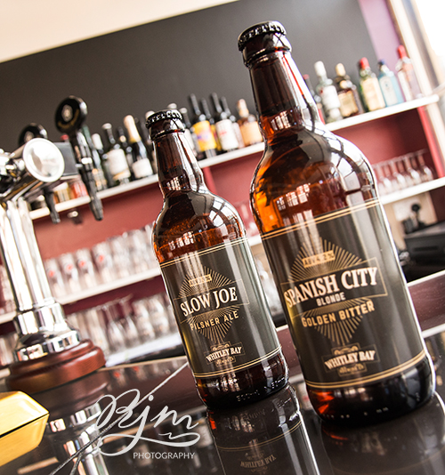 Slow Joe Ale and Spanish City Bitter - Evan'sBistro Whitley Bay RJM Photography