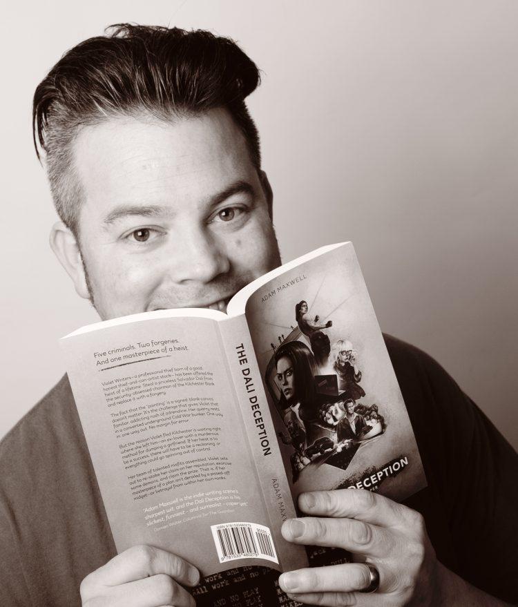 Book author headshot portrait photography