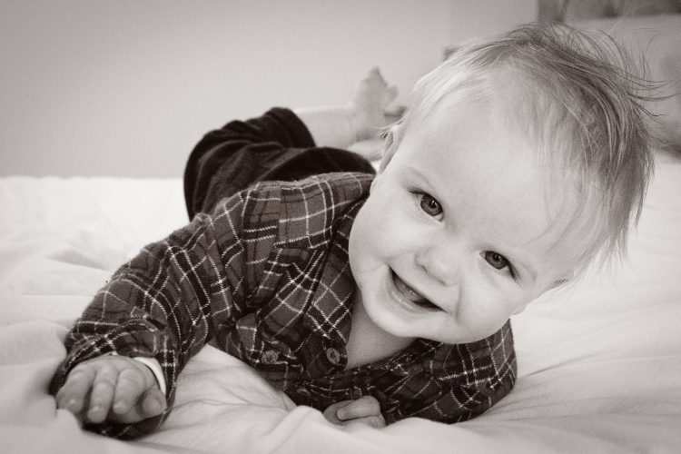 Baby portrait photographer Newcastle by RJM Photography