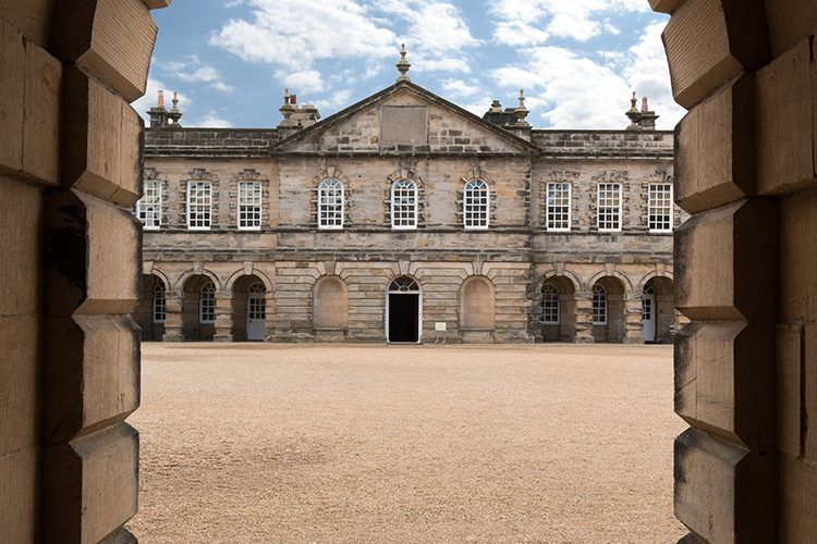 Seaton Delaval Hall architecture photography