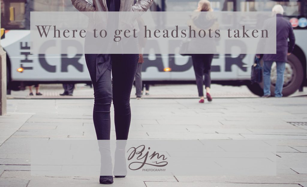 Where to get headshots taken by RJM Photography