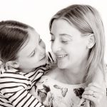 mum and daughter portrait - RJM Photography