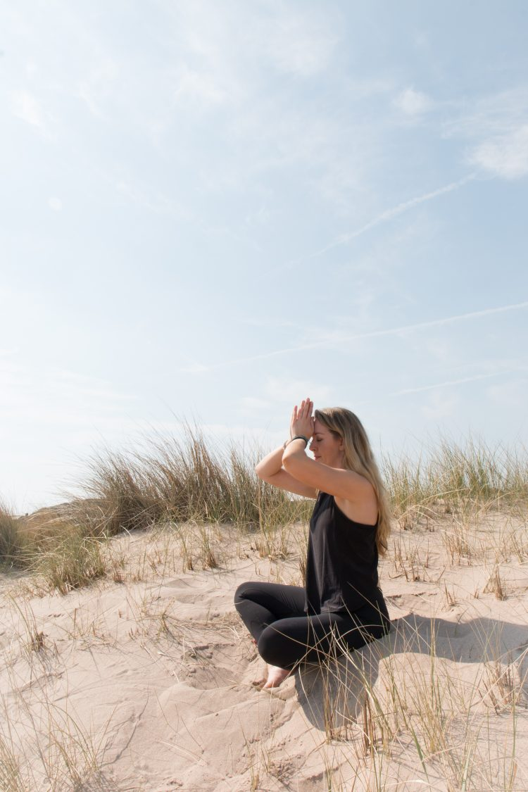 yoga portrait by RJM Photography