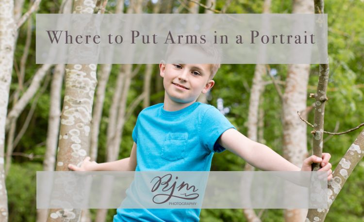 Children-Where to put your arms in a portrait