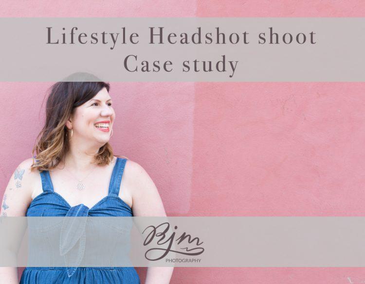 headshot photoshoot behind the scenes