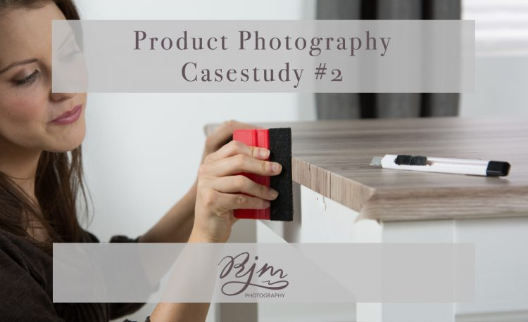 Product photography application shots
