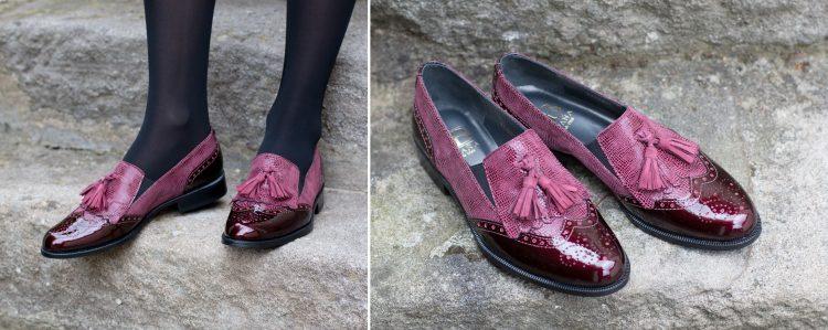 Shoe location fashion photography