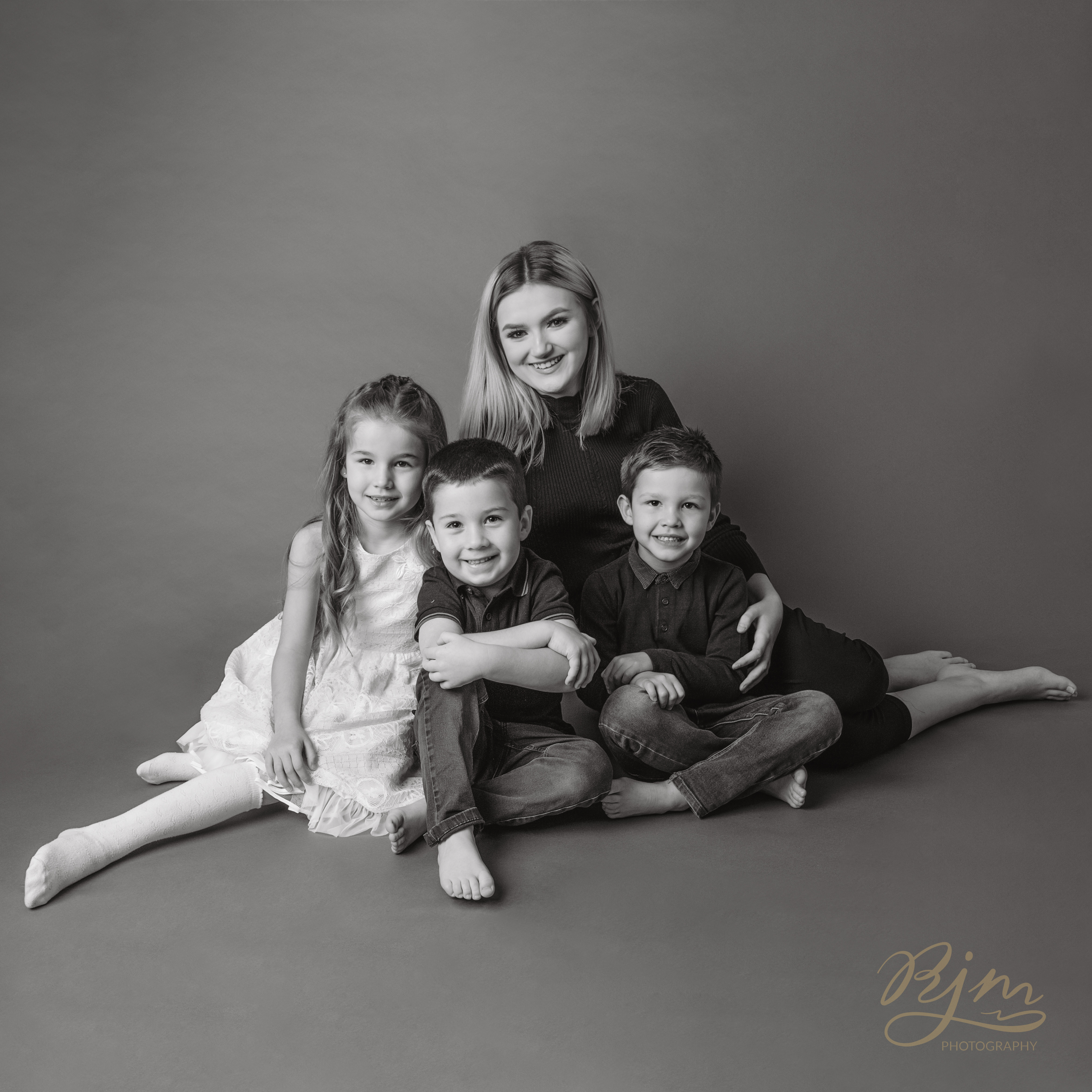 Family photographer group of 4
