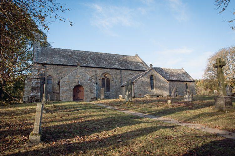 Alnham church location venue photography